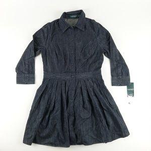 Lauren Ralph Lauren Shirt Dress Fit & Flare